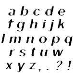 Sketch Alphabet Royalty Free Stock Image