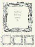 Sketch Art frame decorative Stock Images