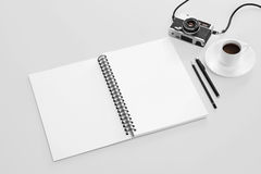 Sketch book mockup Royalty Free Stock Photo