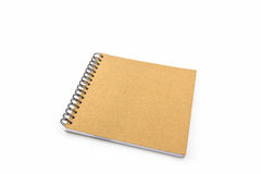 Sketch book on white background. Stock Images