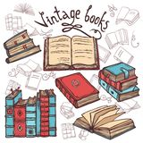Sketch Books Set Royalty Free Stock Photo