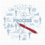 Sketch Business Concept Stock Photo