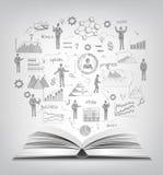 Sketch Business Concept stock illustration