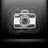Sketch camera Royalty Free Stock Photography