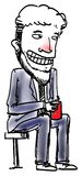 Sketch Cartoon man Stock Photos