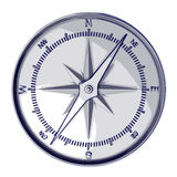 Sketch compass. 3d rendering of a compass, sketch style Royalty Free Stock Images