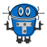 Sketch of a cute robot Royalty Free Stock Photography