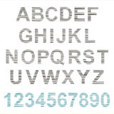 Sketch design alphabet Royalty Free Stock Image