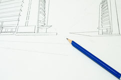 Sketch design Stock Photos