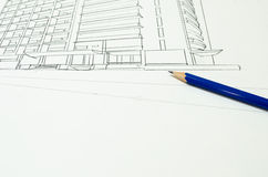 Sketch design royalty free stock photography