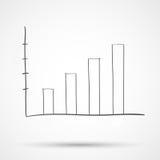 Sketch diagram chart statistical text Stock Photos