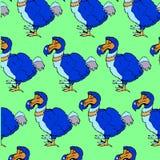 Sketch dodo bird in vintage style2 Royalty Free Stock Image