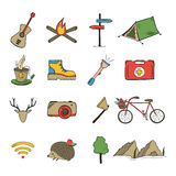 Sketch doodle icon collection Royalty Free Stock Photography
