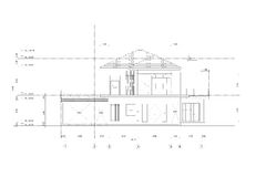 Sketch drawing of building Architecture. Sketch drawing of home building Architecture Stock Images