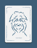 Sketch drawing dog head Stock Photo