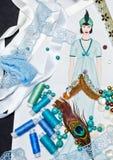 Sketch fashion designer clothing Royalty Free Stock Image