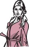 Fashion woman illustration. Sketch of Fashion woman Vector illustration Royalty Free Stock Photo