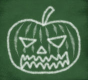 Sketch of halloween pumpkin Stock Photo