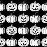Sketch Halloween's pumpkins Royalty Free Stock Photography