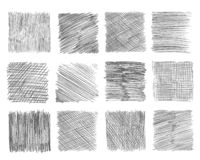 Free Sketch Hatching. Pen Doodle Freehand Line Strokes Chalk Scribble Black Line Sketch Grunge Handmade Vector Abstract Stock Photos - 152564263
