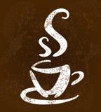 A sketch of hot cup of tea Stock Photos