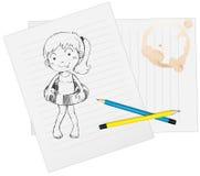 Sketch Royalty Free Stock Image