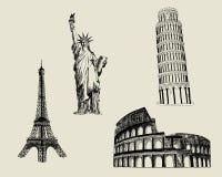 Sketch Landmark Royalty Free Stock Image