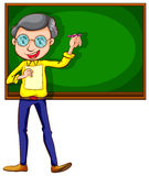 A sketch of a male teacher Stock Photo