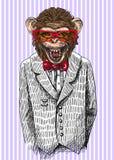 Sketch of monkey Royalty Free Stock Image