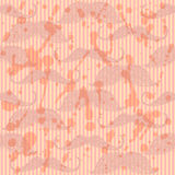 Sketch mustache,  vintage seamless pattern Royalty Free Stock Images