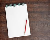 Sketch Pad. A studio photo of a sketch pad Royalty Free Stock Images