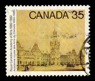 Sketch for Parliament building by Thomas Fuller, Canada