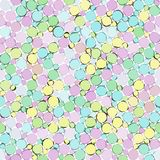 Sketch pastel bubble pattern Royalty Free Stock Photo
