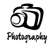 Sketch photography icon Stock Image