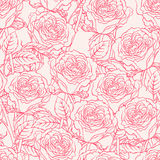 Sketch roses Royalty Free Stock Photography