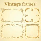 Sketch set of frames Stock Photography