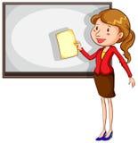 A sketch of a simple teacher Stock Photos