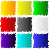 Sketch squares for your design Stock Photography