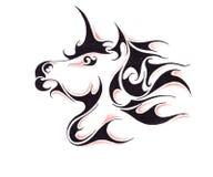 Sketch of tattoo art, horse Stock Photo