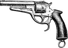Sketch of a vintage gun Royalty Free Stock Photos