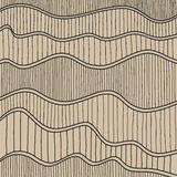 Sketch Wave Abstract Background. Stock Images