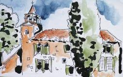 Sketchbook Βενετία Στοκ Εικόνα