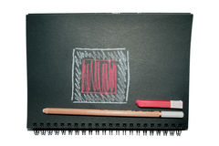 Sketchbook Royalty Free Stock Photography
