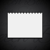 Sketchbook icon Royalty Free Stock Images