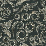 Sketchbook Pattern Royalty Free Stock Images