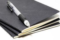 Sketchbooks with a mechanical pencil Royalty Free Stock Images