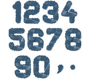 Sketched numbers Royalty Free Stock Images