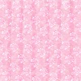Sketched roses background. Sketched pale pink roses on distressed pink background Stock Image