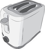 Sketched Toaster Stock Photo