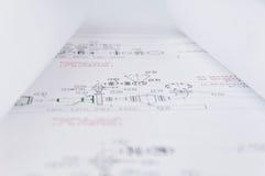Sketcher rotolato Fotografia Stock Libera da Diritti